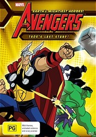 The Avengers: Thors Last Stand on DVD