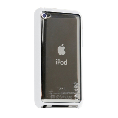 Gecko Vision Case for iPod Touch 4G (White/Clear)