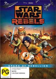Star Wars Rebels: Spark of Rebellion on DVD image