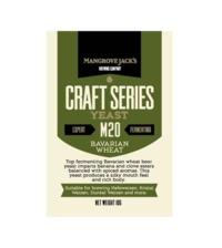 Mangrove Jack's Craft Series Yeast M20 Bavarian Wheat - 10g
