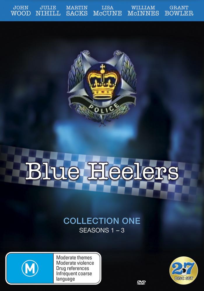 Blue Heelers - Collection 1 (Season 1- 3) on DVD image