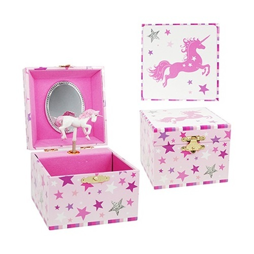 Pink Poppy: Magical Moments Small Music Box - (Pink)