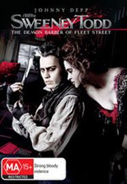Sweeney Todd - The Demon Barber Of Fleet Street (2 Disc Set) on DVD