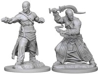 Pathfinder Deep Cuts: Unpainted Miniature Figures - Human Male Monk