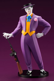DC Comics: 1/10 Joker (Animated Series Ver.) - PVC Artfx+ Figure