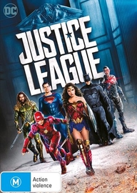Justice League on DVD image
