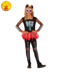Scared To The Bone Skeleton Costume - Size 3-5