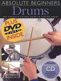 Absolute Beginners Drums by Dave Zubraski image