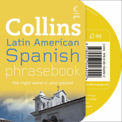 Latin American Spanish Phrasebook CD Pack by Collins UK