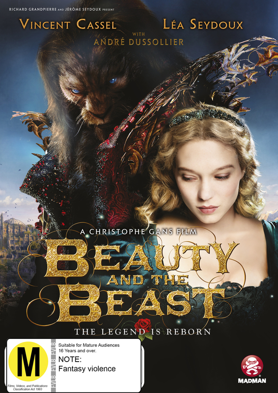 Beauty And The Beast on DVD