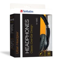 Verbatim TDK ST100 Over-Ear Classic Audio Headphones (Black) image