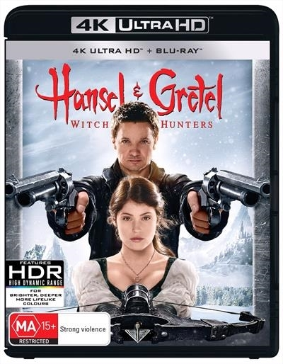Hansel & Gretel: Witch Hunters on UHD Blu-ray