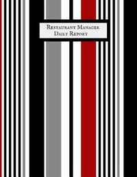 Restaurant Manager Daily Report by Jason Soft