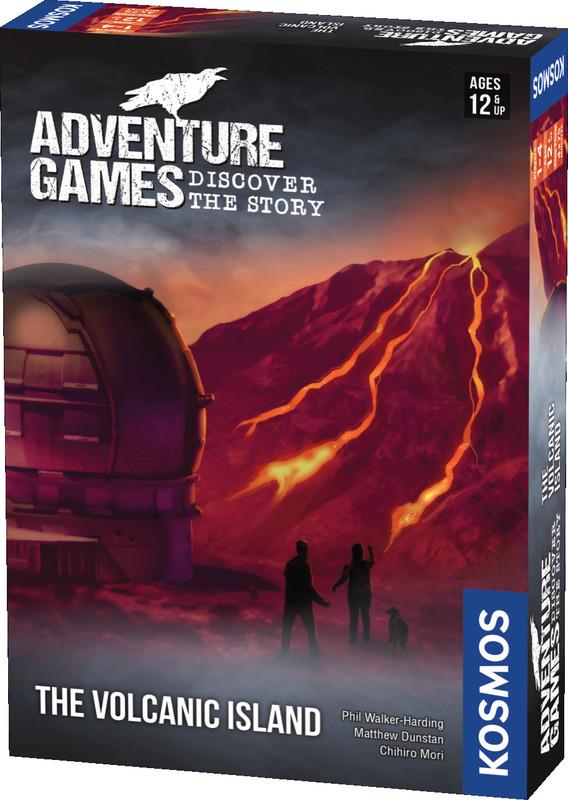Adventure Games: Volcano Island