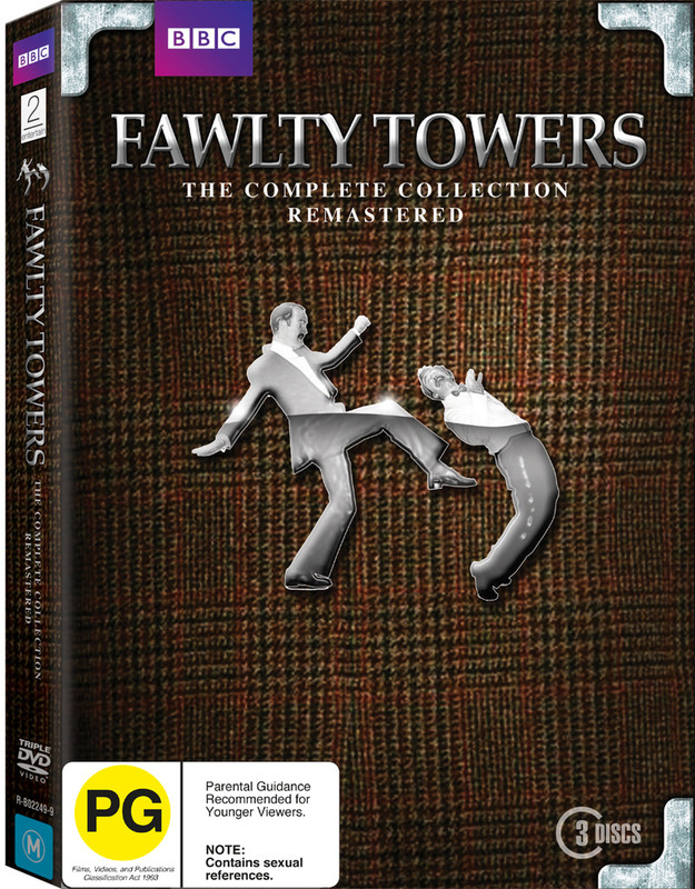 Fawlty Towers - The Complete Collection Remastered Box Set on DVD