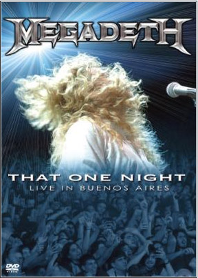 Megadeth - That One Night: Live In Buenos Aires on DVD image
