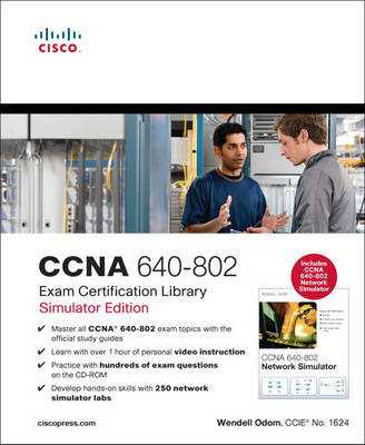 CCNA 640-802 Exam Certification Library by Wendell Odom image
