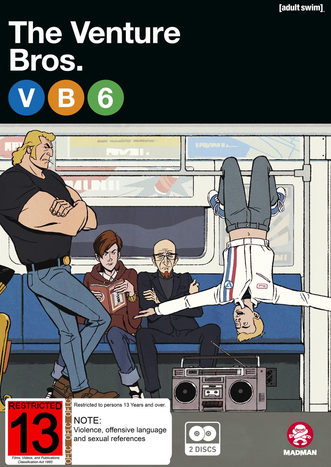 The Venture Bros. Season 6 Collection on DVD image