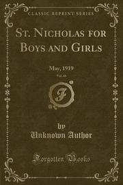 St. Nicholas for Boys and Girls, Vol. 46 by Unknown Author image