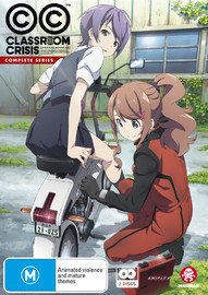 Classroom Crisis - Complete Series (Subtitled Edition) on DVD