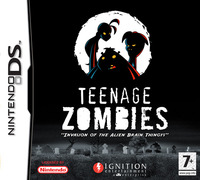 Teenage Zombies: Invasion of the Alien Brain Thingys! for DS image