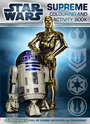 Star Wars: Supreme Colouring and Activity Book