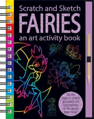 Scratch & Sketch: Activity Book - Fairies