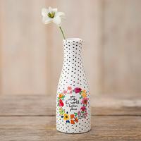 Natural Life: Floral Bud Vase - You Make the World Better