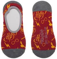 Harry Potter : No Show Liner Socks - 2-Pack image