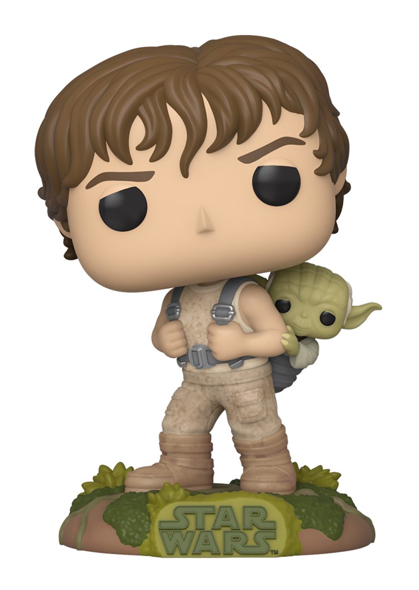 Star Wars: Luke & Yoda (Training) - Pop! Vinyl Figure image