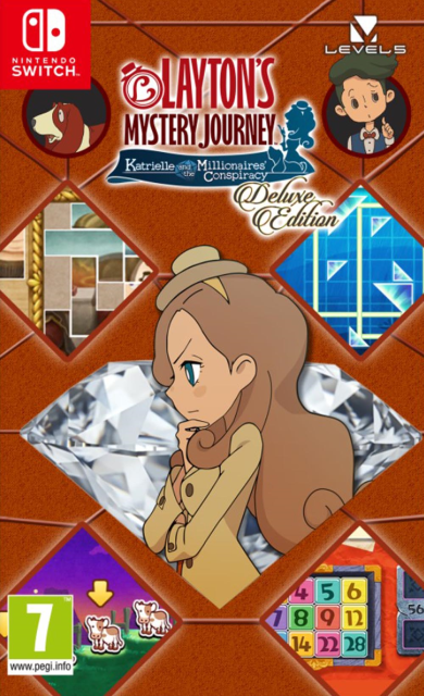 Layton's Mystery Journey: Katrielle The Millionaires Conspiracy Deluxe Edition for Switch