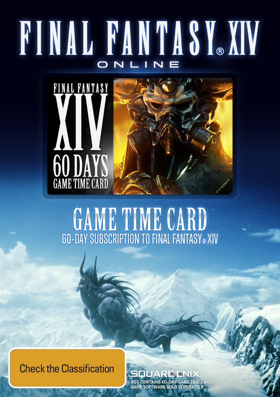 Final Fantasy XIV 60 day Time Card | PC | Buy Now | at Mighty Ape