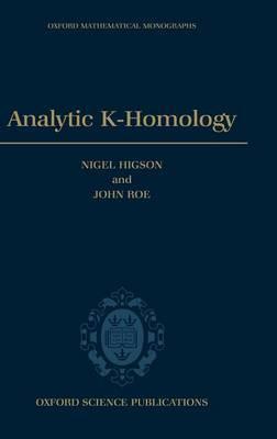 Analytic K-Homology by Nigel Higson