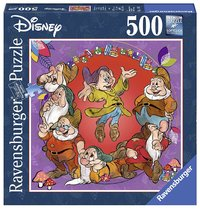 Ravensburger : Disney The Seven Dwarfs Puz 500pc Sq