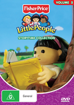 Little People - Vol. 5: Storytime Collection on DVD