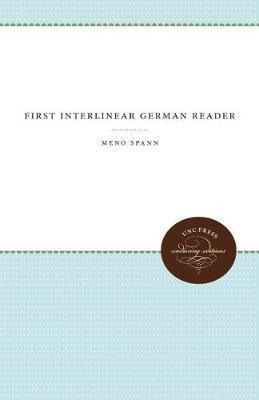 First Interlinear German Reader by Meno Spann image
