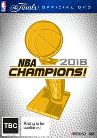 NBA 2018 Champions on DVD