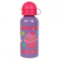 Stephen Joseph Stainless Steel Water Bottle - Cupcake