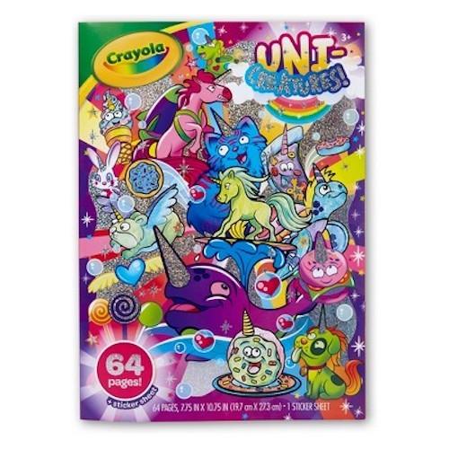Crayola: Coloring Book - Uni Creatures