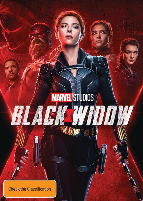 Black Widow on DVD