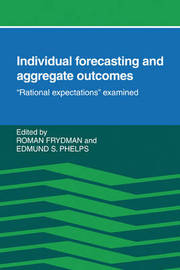 Individual Forecasting and Aggregate Outcomes