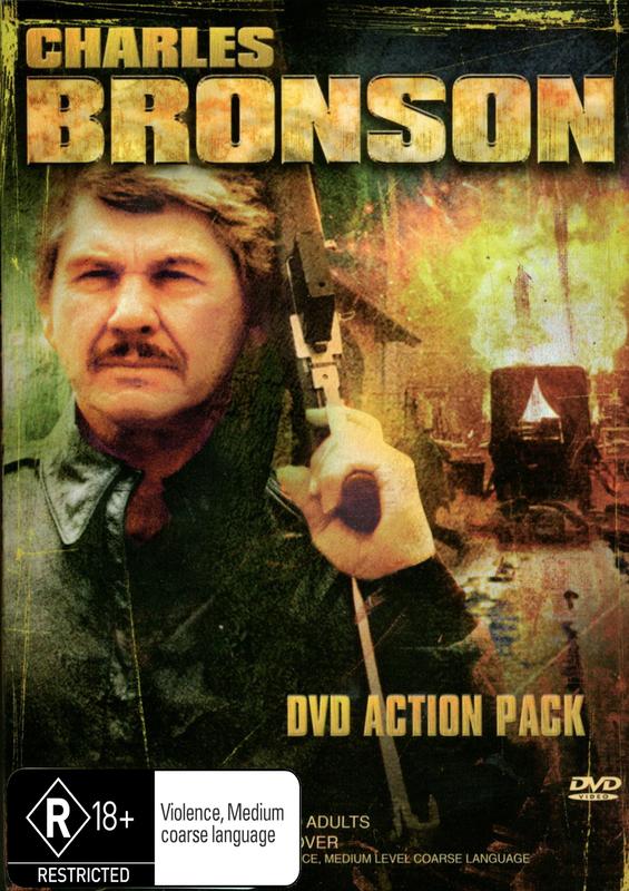 Charles Bronson - DVD Action Pack (5 Disc Box Set) on DVD