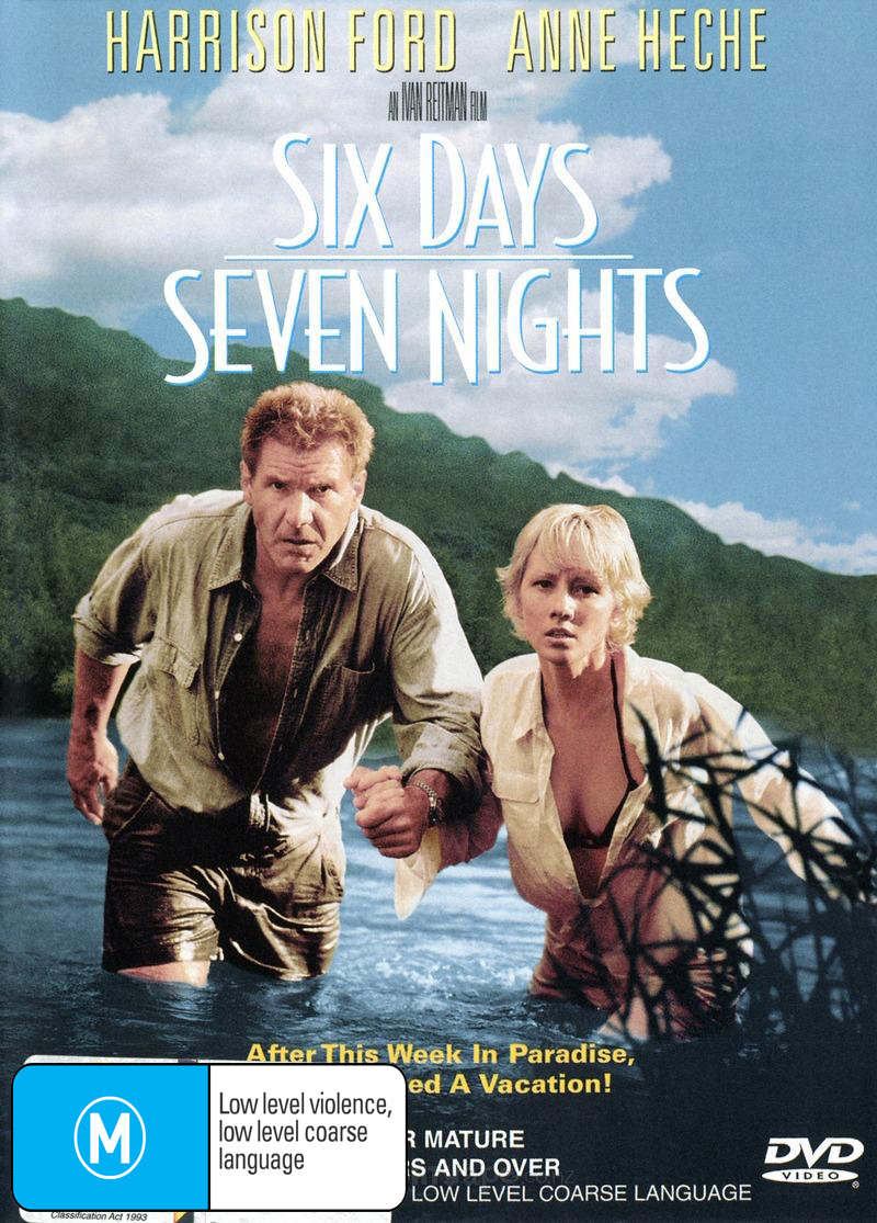 Six Days, Seven Nights on DVD image