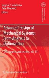 Advanced Design of Mechanical Systems: From Analysis to Optimization