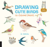 Drawing Cute Birds in Colored Pencil by Ai Akikusa
