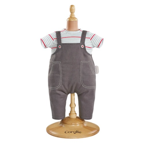 Corolle Classique 36cm Doll Clothing - Denim Overalls Set