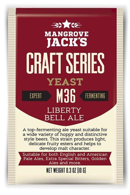Mangrove Jack's Craft Series Yeast M36 Liberty Bell Ale (10g)
