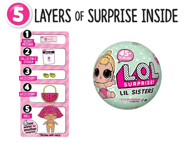 L.O.L: Surprise! Doll - Little Sisters (Blind Bag) image