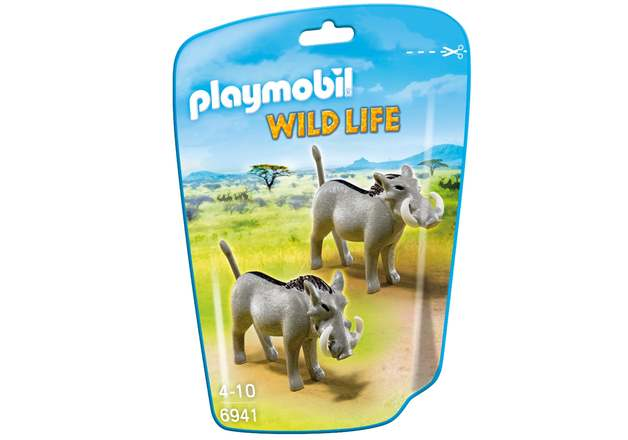 Playmobil: Wildlife - Warthogs
