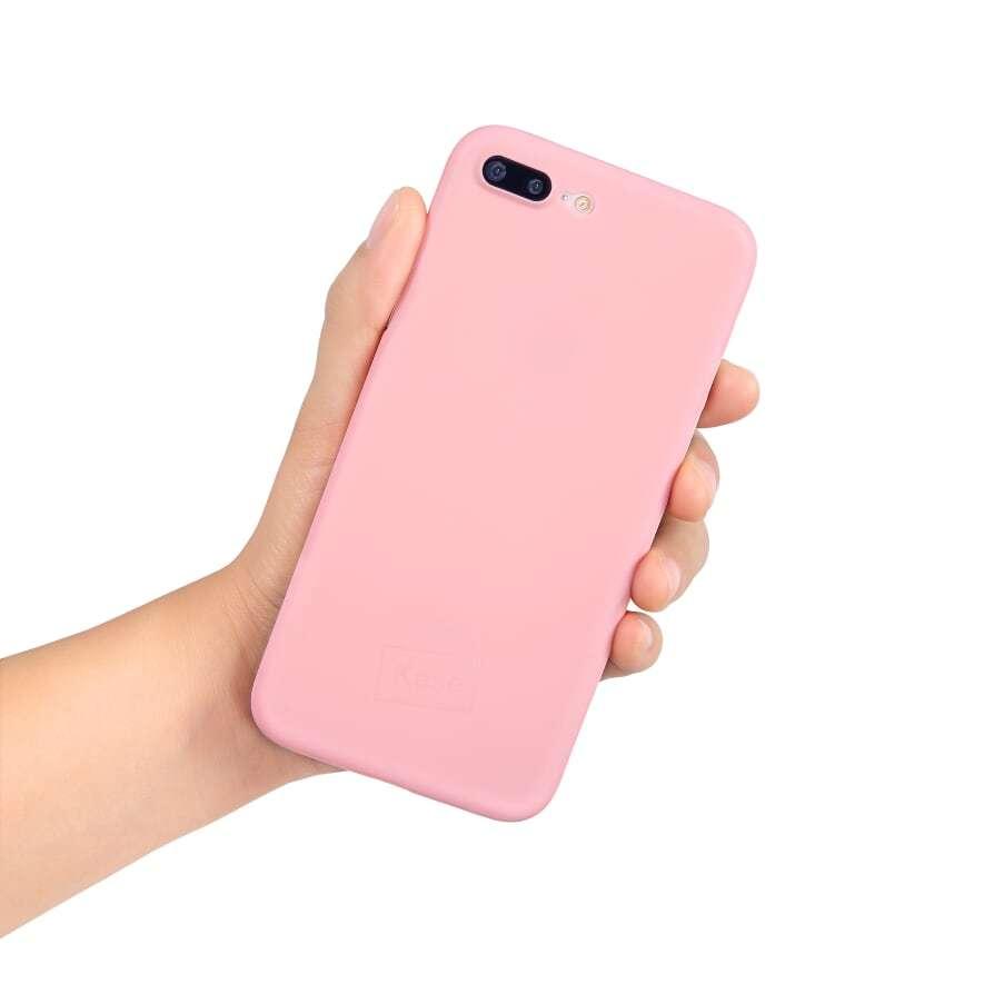 Go Original iPhone 8 Plus Slim Case- Pretty in Pink image
